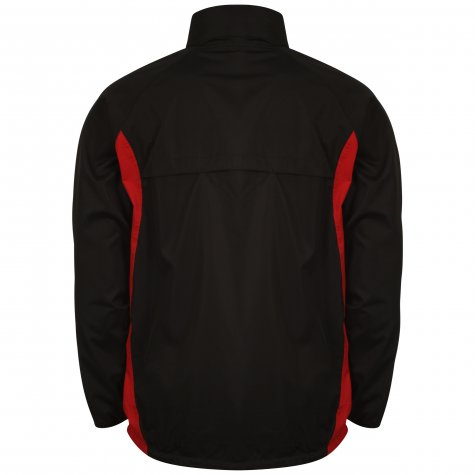 Airo Sportswear Tracksuit Top (Black-Red)