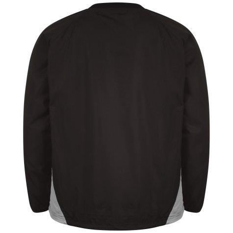Airo Sportswear Team Windbreaker (Black-Silver)