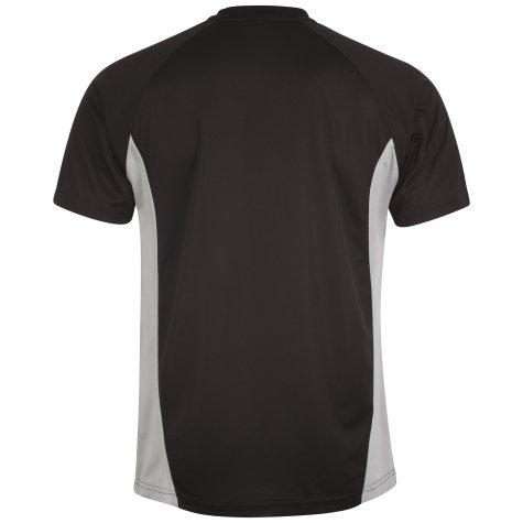 Airo Sportswear Player Training Tee (Black-Silver)