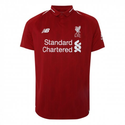 2018-2019 Liverpool Home Football Shirt (Gerrard 8)