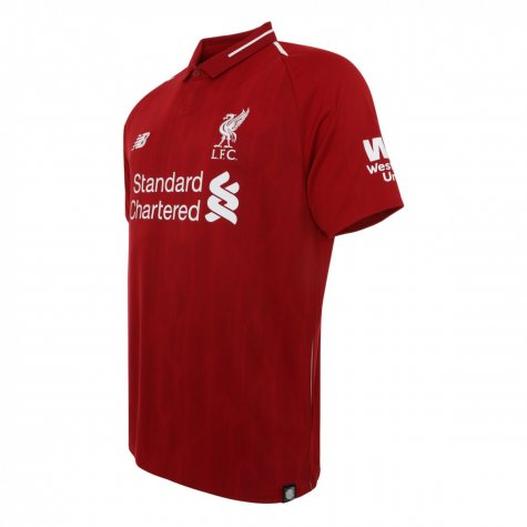 2018-2019 Liverpool Home Football Shirt (Lallana 20)