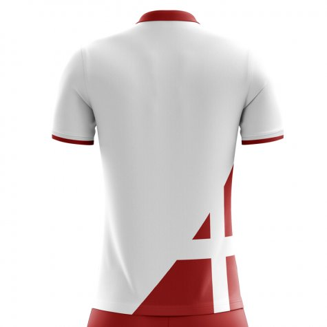 2018-2019 Denmark Away Concept Football Shirt (Bendtner 11)