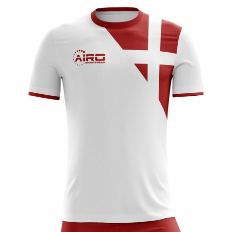 2018-2019 Denmark Away Concept Football Shirt (Y Poulsen 20) - Kids