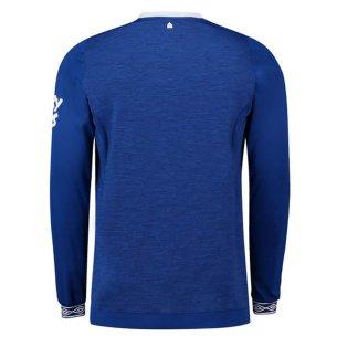 huge discount 312a1 862f5 2018-2019 Everton Umbro Home Long Sleeve Shirt