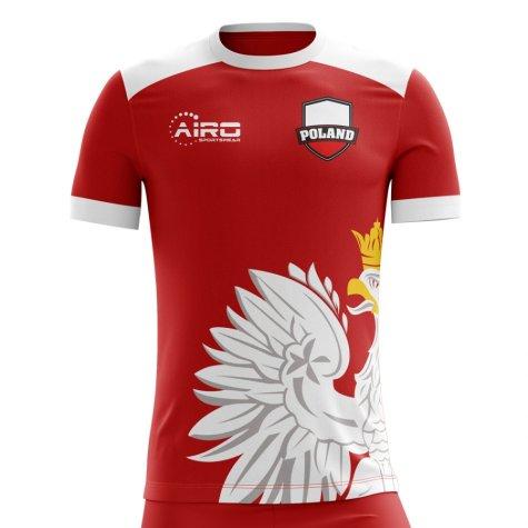 2020-2021 Poland Away Concept Football Shirt (Peszko 17) - Kids