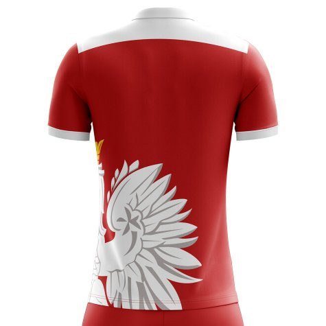 2020-2021 Poland Away Concept Football Shirt (Teodorczyk 14) - Kids