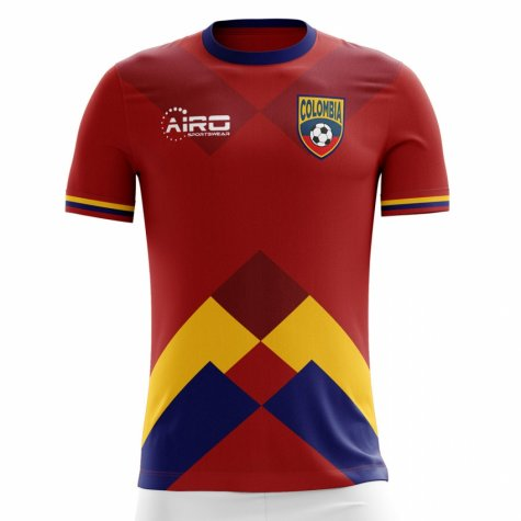2018-2019 Colombia Away Concept Football Shirt (Y.Mina 13)