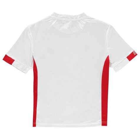37ad663c2 Poland FIFA World Cup 2018 Poly T-Shirt (White) - Kids    - Uksoccershop