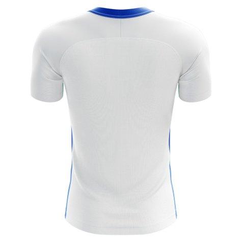 2020-2021 Greece Home Concept Football Shirt