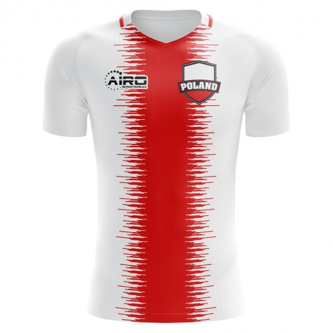 2018-2019 Poland Home Concept Football Shirt (Pazdan 2) - Kids