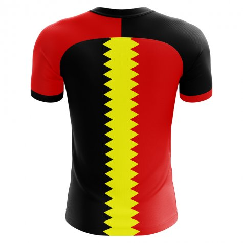 2018-2019 Belgium Flag Concept Football Shirt (Nainggolan 4) - Kids