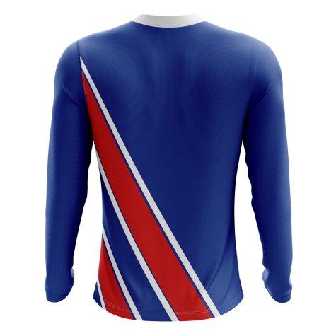 2020-2021 Iceland Long Sleeve Home Concept Football Shirt