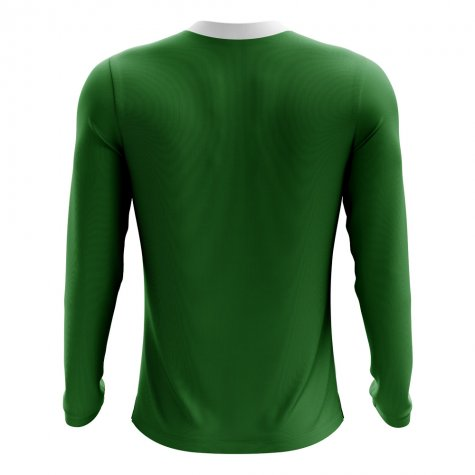 2018-2019 Mexico Long Sleeve Home Concept Football Shirt