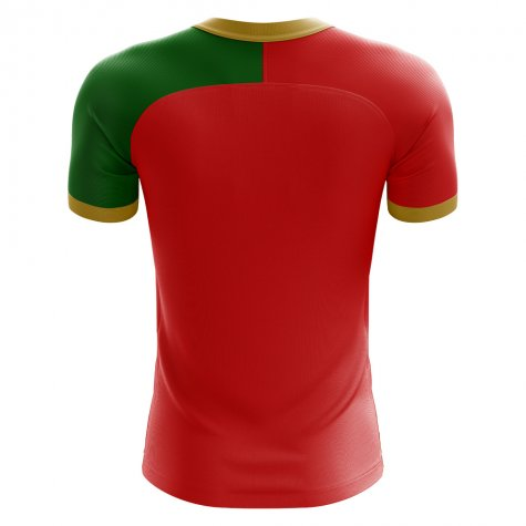 2018-2019 Portugal Flag Home Concept Football Shirt (J Mario 10)