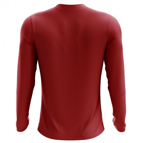 2018-2019 Egypt Long Sleeve Home Concept Football Shirt