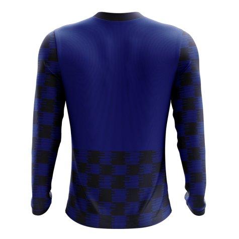 2018-2019 Croatia Long Sleeve Away Concept Football Shirt (Kids)