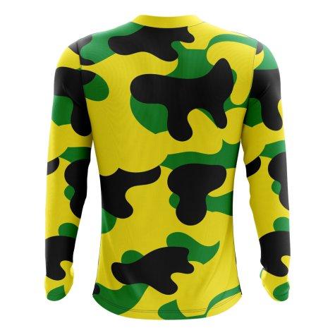 2018-2019 Jamaica Long Sleeve Home Concept Football Shirt (Kids)