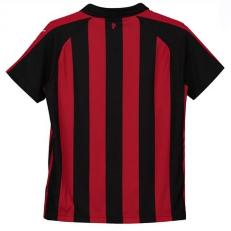 2018-2019 AC Milan Puma Home Football Shirt (Montolivo 18) - Kids
