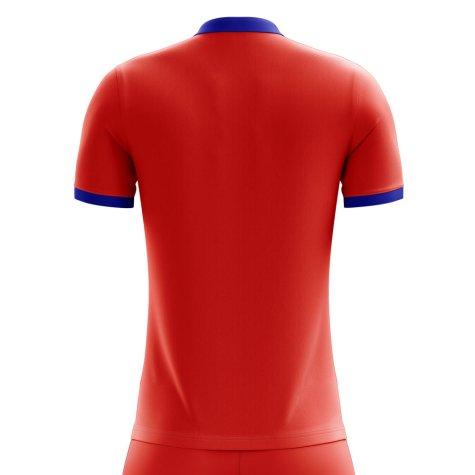 2018-2019 Chile Home Concept Football Shirt (Fernandez 14)