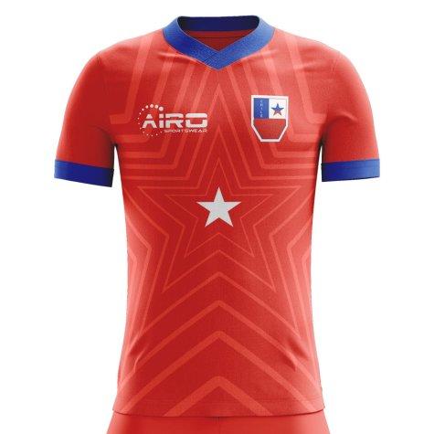 2020-2021 Chile Home Concept Football Shirt (Fernandez 14)