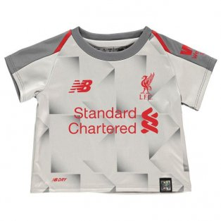 best service 57368 be1fd 2018-2019 Liverpool Third Baby Kit