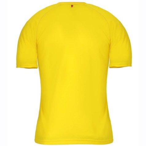 2018-2019 AC Milan Puma Home SS Goalkeeper Shirt (Yellow) - Kids
