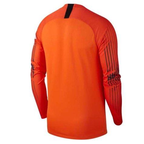 2018-2019 Man City Home Nike Goalkeeper Shirt (Orange)