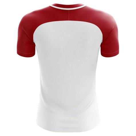 2018-2019 Hungary Home Concept Football Shirt (Kids)