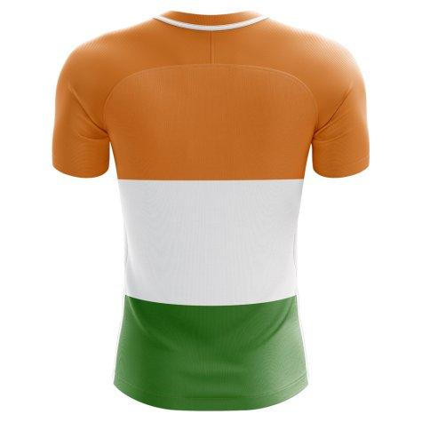 2018-2019 India Home Concept Football Shirt