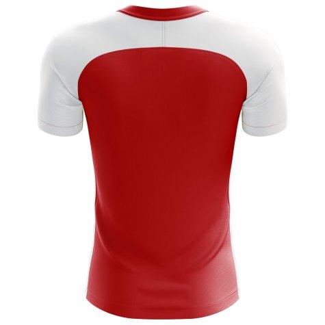 2018-2019 Tunisia Flag Concept Football Shirt