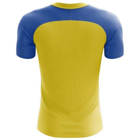 2018-2019 Ukraine Home Concept Football Shirt