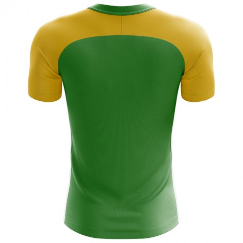 2020-2021 Brazil Flag Concept Football Shirt - Womens