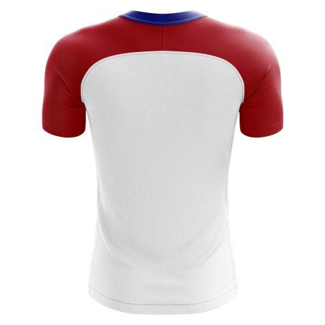 2020-2021 Paraguay Home Concept Football Shirt - Kids