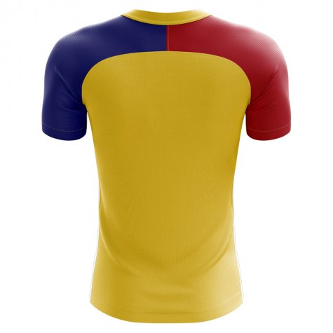 2018-2019 Romania Home Concept Football Shirt