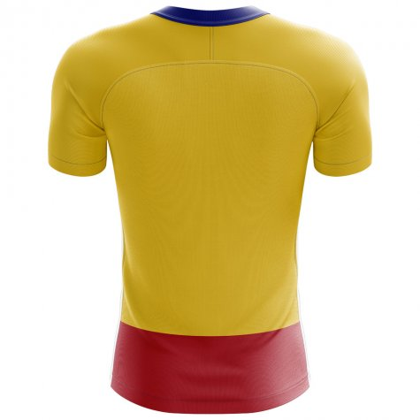 2018-2019 Colombia Flag Concept Football Shirt (James 10)