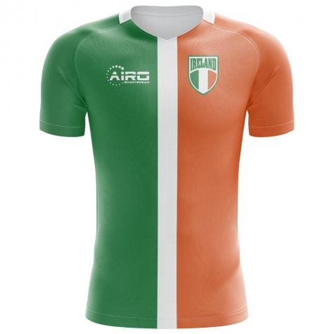2018-2019 Ireland Flag Concept Football Shirt (Ward 17)