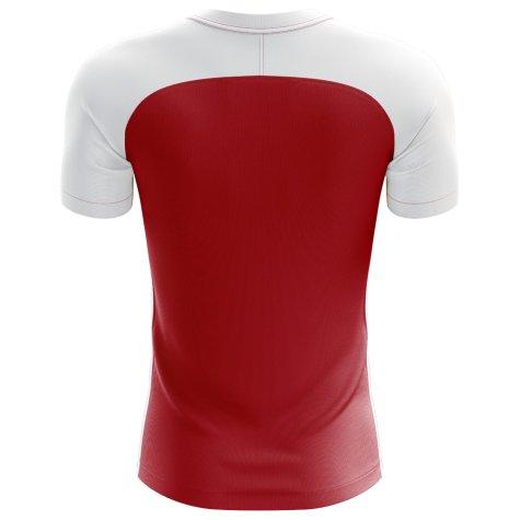 2018-2019 South Korea Flag Concept Football Shirt (Kids)
