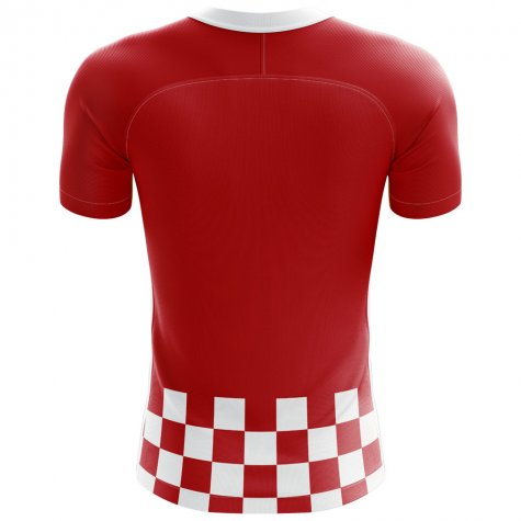 2018-2019 Croatia Flag Concept Football Shirt