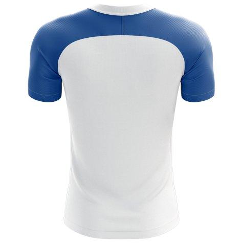 2020-2021 Uruguay Flag Concept Football Shirt - Womens