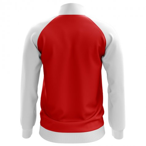 Croatia Concept Football Track Jacket (Red) - Kids