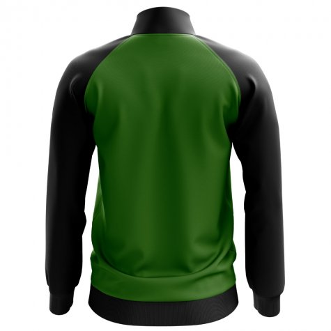 Jamaica Concept Football Track Jacket (Green) - Kids