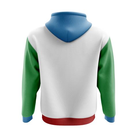Azerbaijan Concept Country Football Hoody (White)