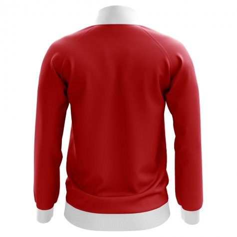 Wales Concept Football Track Jacket (Red) - Kids
