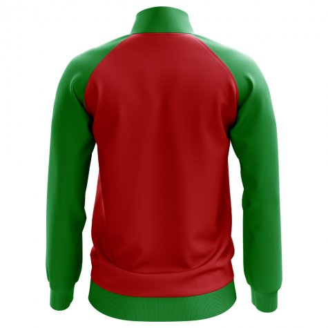 Portugal Concept Football Track Jacket (Red) - Kids