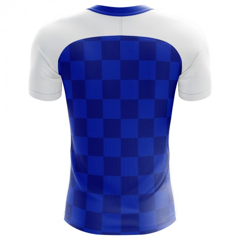2018-2019 Dinamo Zagreb Home Concept Football Shirt - Baby