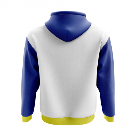 Buryatia Concept Country Football Hoody (White)