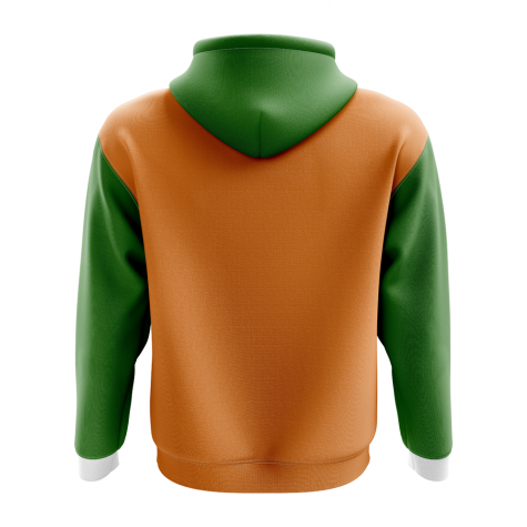 India Concept Country Football Hoody (Orange)