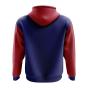 Liechtenstein Concept Country Football Hoody (Navy)