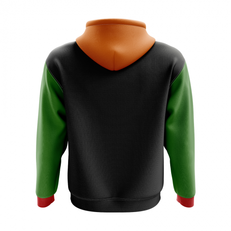 Zambia Concept Country Football Hoody (Black)