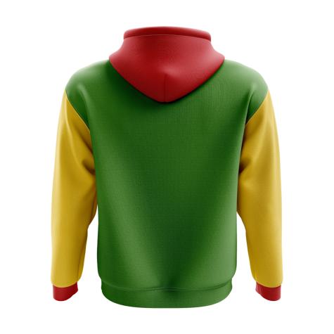 Zimbabwe Concept Country Football Hoody (Green)